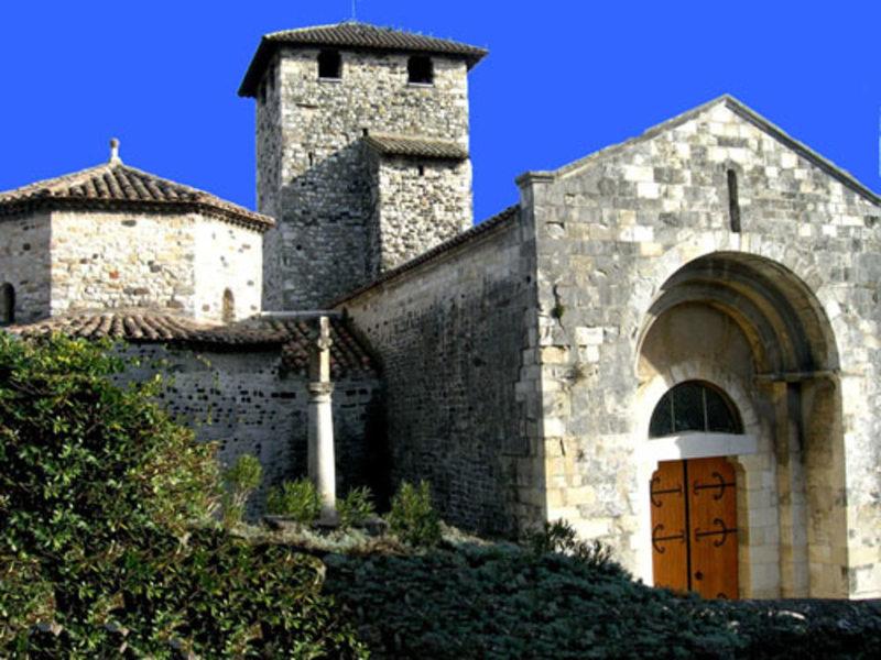 église Saint Etienne de Mélas