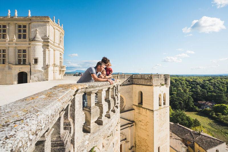 Terrasse château