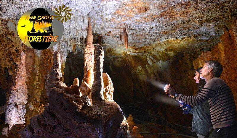 Aven Grotte Forestière. Visitez Autrement