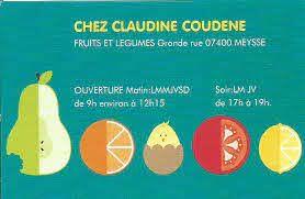 Fruits et légumes Coudène