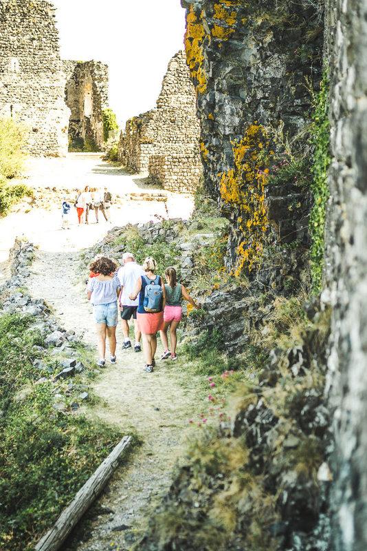 Visite guidée au château de Rochemaure