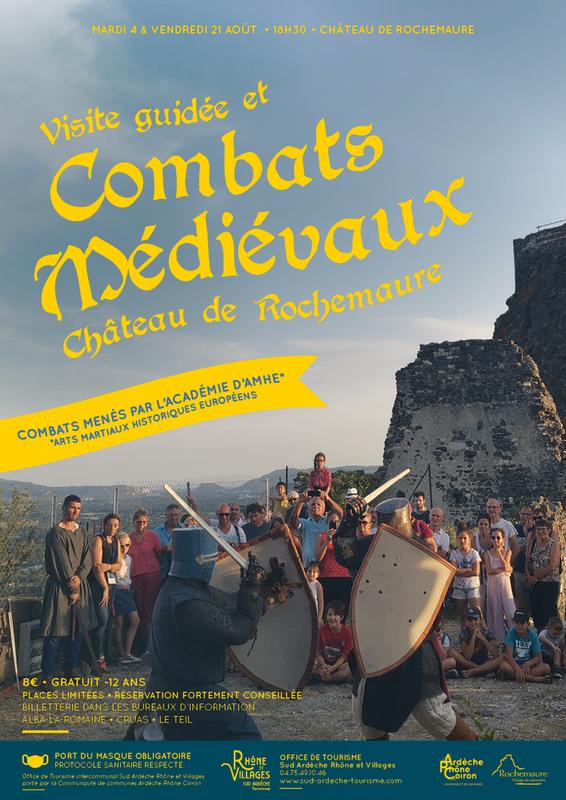 Combats médiévaux au château