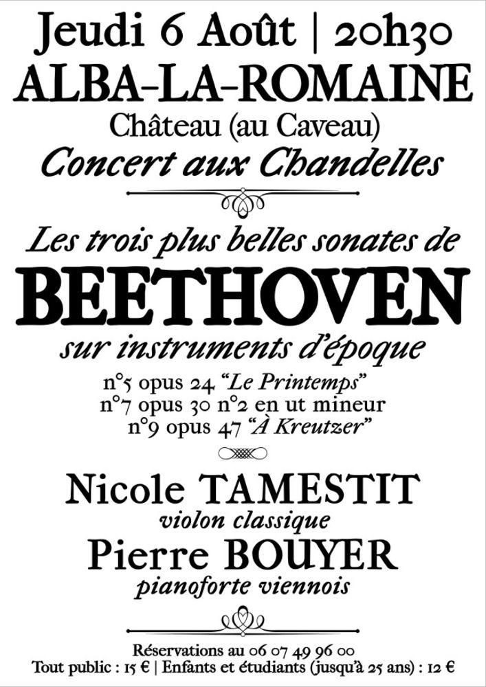 Concert  la Sonate à Kreutzer