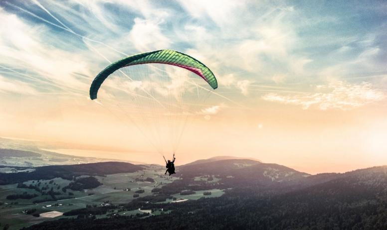 Vol en parapente avec Dynamic Parapente
