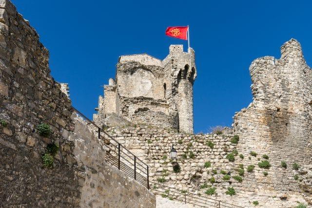 drapeau-occitan-citadelle-cruas-ardeche