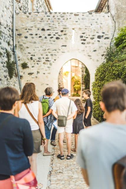Visites guidées à St-Vincent-de-Barrès